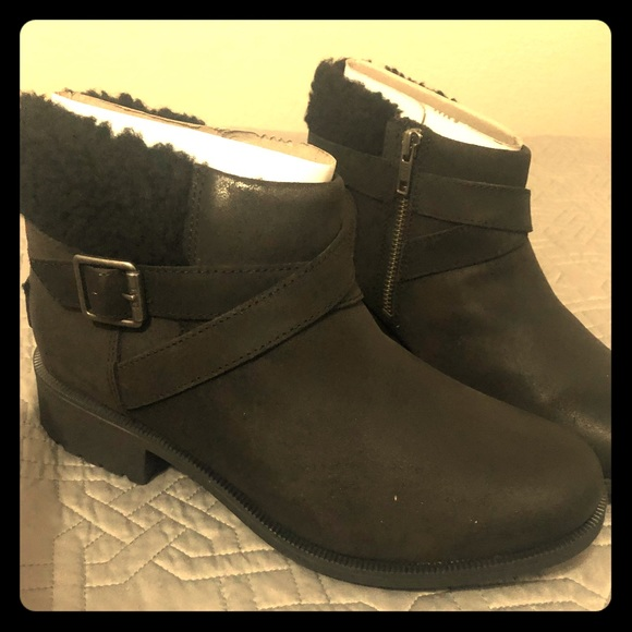 c83a8b7bc90 UGG Benson boot in black- brand new NWT